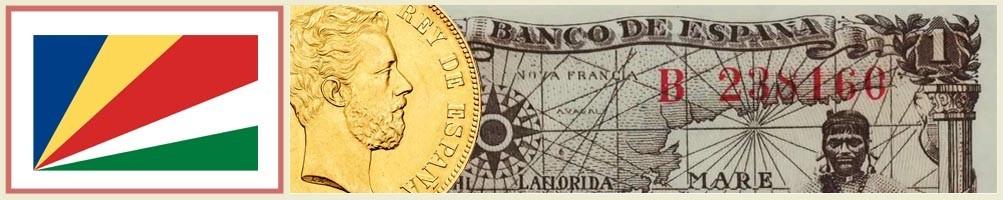 Seychelles Numismatics - numismaticayfilatelia.com