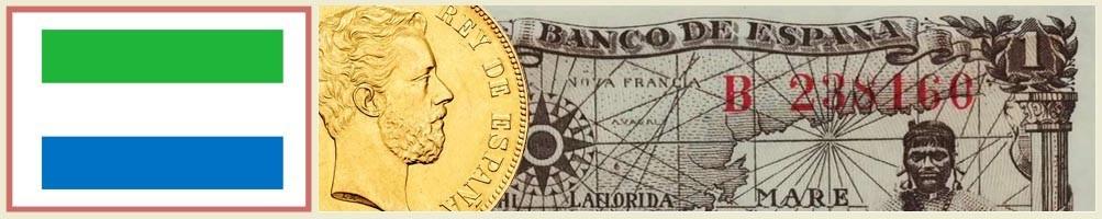 Numismatics of Sierra Leone - numismaticayfilatelia.com