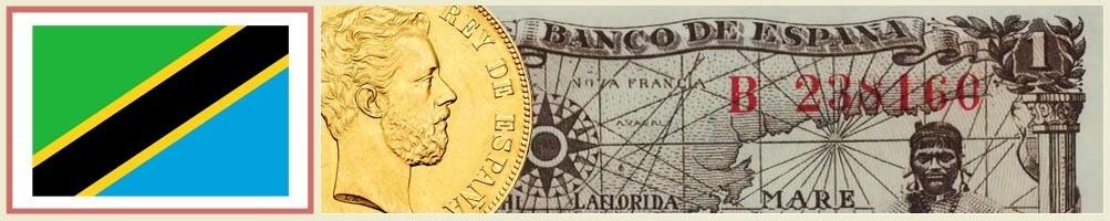 Numismatics of Tanzania - numismaticayfilatelia.com