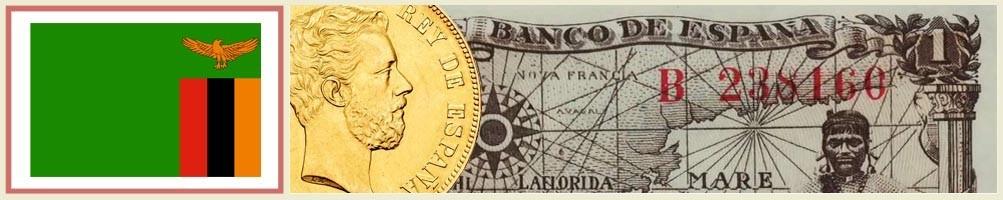 Zambian numismatics - numismaticayfilatelia.com