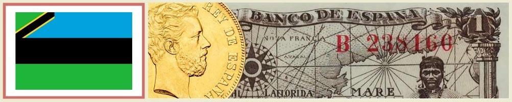 Numismatics of Zanzibar - numismaticayfilatelia.com