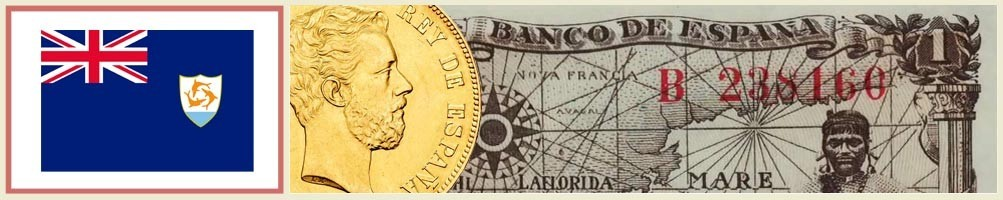 Anguilla Numismatics - numismaticayfilatelia.com