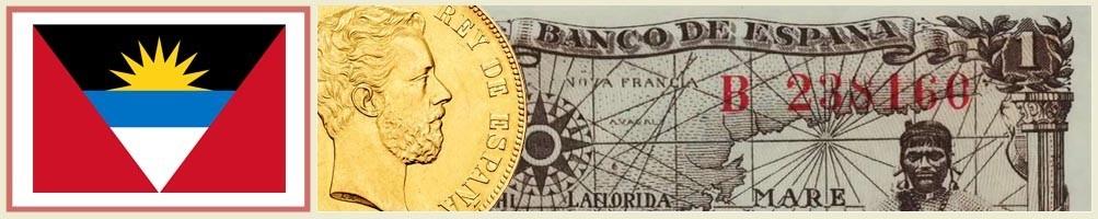 Numismatics of Antigua and Barbuda - numismaticayfilatelia.com