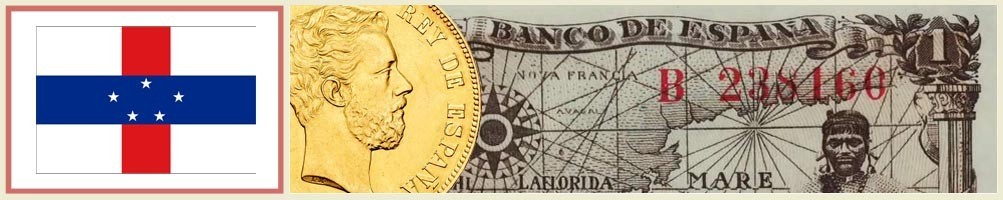 Numismatics of the Netherlands Antilles - numismaticayfilatelia.com