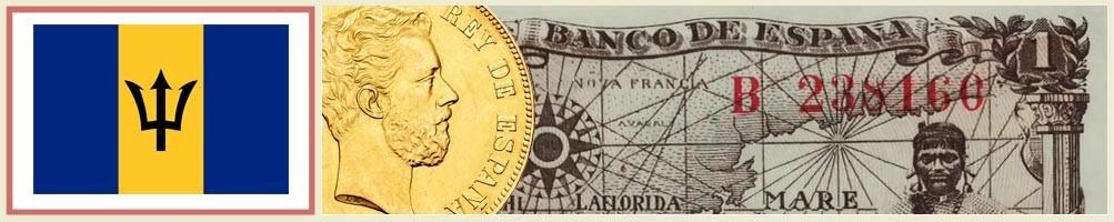 Barbados numismatics - numismaticayfilatelia.com