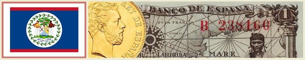 Belizean numismatics - numismaticayfilatelia.com