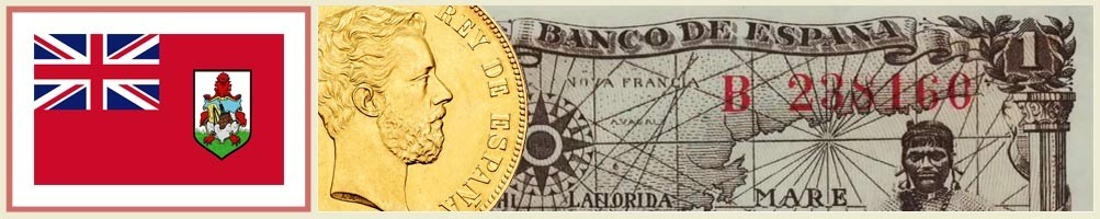 Bermuda numismatics - numismaticayfilatelia.com