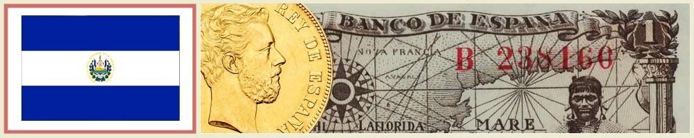 Numismatics of El Salvador - numismaticayfilatelia.com