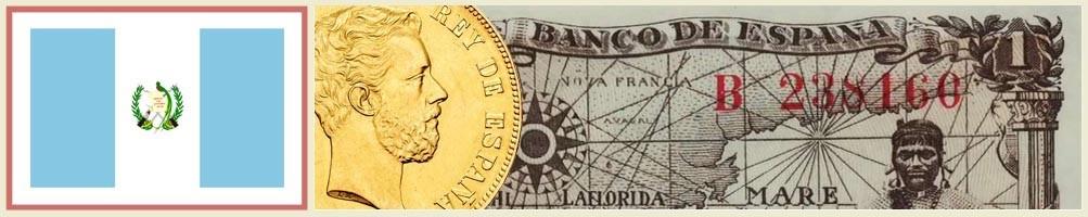 Numismatics of Guatemala - numismaticayfilatelia.com