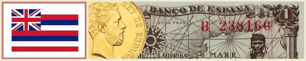 Hawaii numismatics - numismaticayfilatelia.com