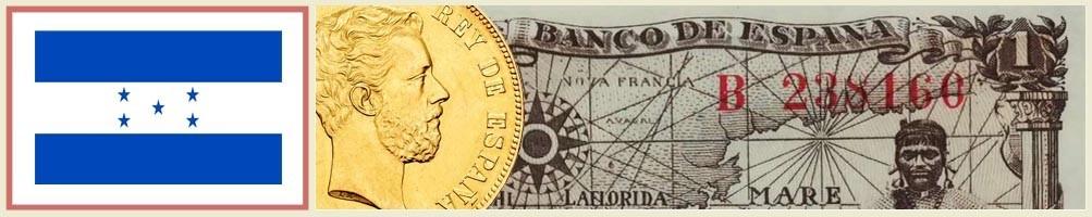Numismatics of Honduras - numismaticayfilatelia.com