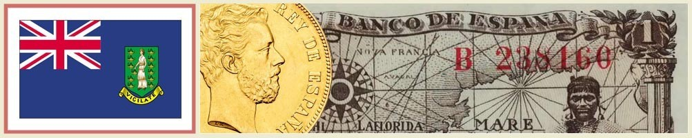 British Virgin Islands Numismatics - numismaticayfilatelia.com