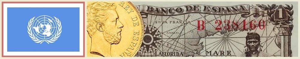 United Nations Numismatics - numismaticayfilatelia.com
