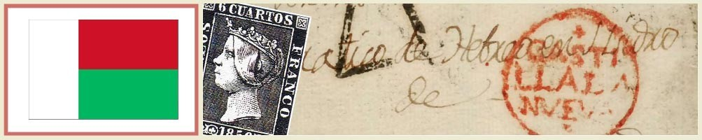 Philately of Madagascar - numismaticayfilatelia.com