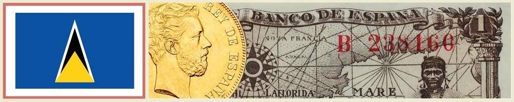 St. Lucia's Numismatics - numismaticayfilatelia.com