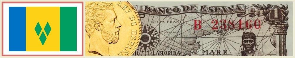 St. Vincent and the Grenadines Numismatics - numismaticayfilatelia.com