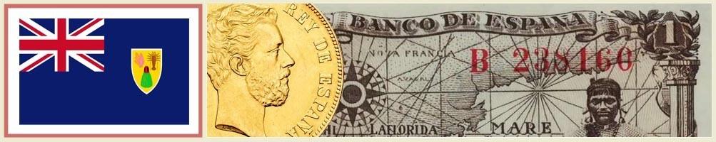 Turks and Caicos Numismatics - numismaticayfilatelia.com