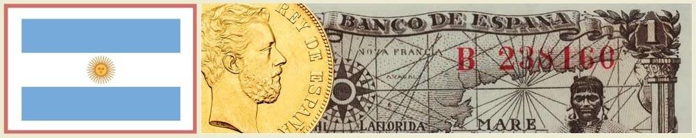 Numismatics of Argentina - numismaticayfilatelia.com
