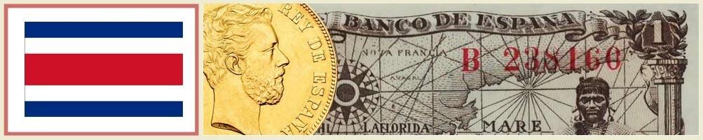 Numismatics of Costa Rica - numismaticayfilatelia.com