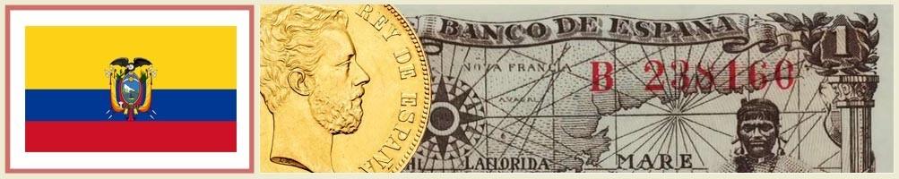 Numismatics of Ecuador - numismaticayfilatelia.com