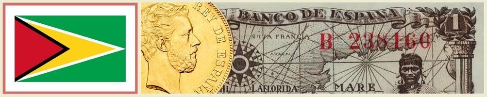 Numismatics of Guyana - numismaticayfilatelia.com