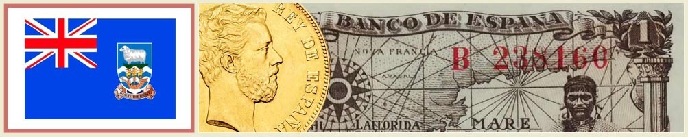 Falkland Islands Numismatics - numismaticayfilatelia.com