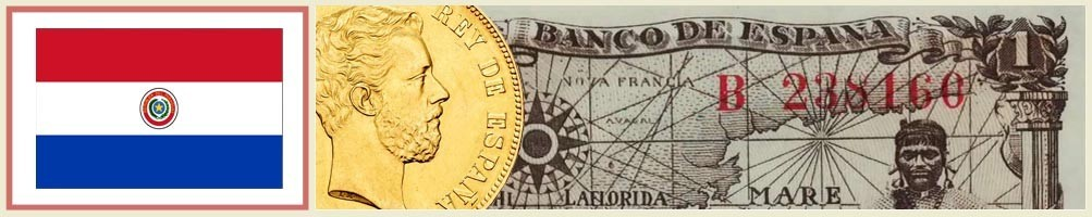 Numismatics of Paraguay - numismaticayfilatelia.com