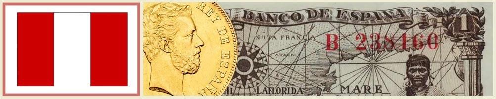 Numismatics of Peru - numismaticayfilatelia.com