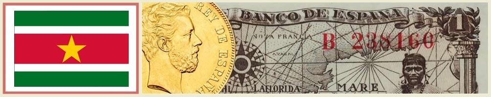 Surinamese Numismatics - numismaticayfilatelia.com