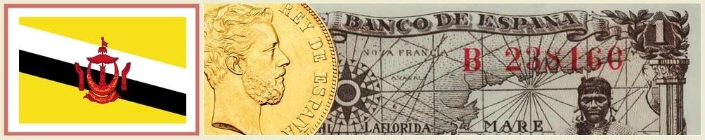 Numismatics of Brunei - numismaticayfilatelia.com