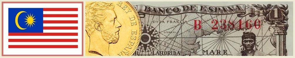 Malaysian Numismatics - numismaticayfilatelia.com