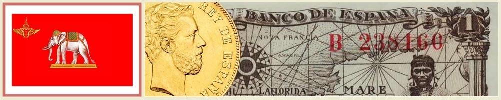 Siamese numismatics - numismaticayfilatelia.com