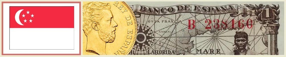 Singapore numismatics - numismaticayfilatelia.com