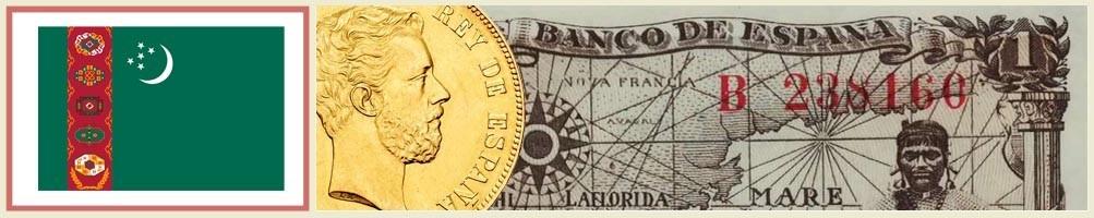 Turkmenistan's numismatics - numismaticayfilatelia.com