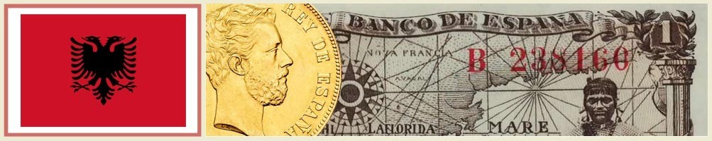 Numismatics of Albania - numismaticayfilatelia.com