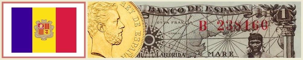 Numismatics of Andorra - numismaticayfilatelia.com