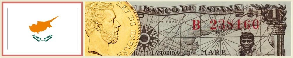 Cyprus Numismatics - numismaticayfilatelia.com
