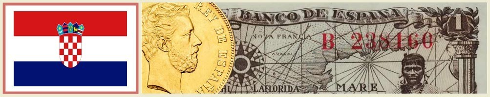Numismatics of Croatia - numismaticayfilatelia.com