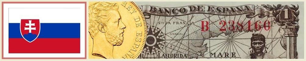 Numismatics of Slovakia - numismaticayfilatelia.com