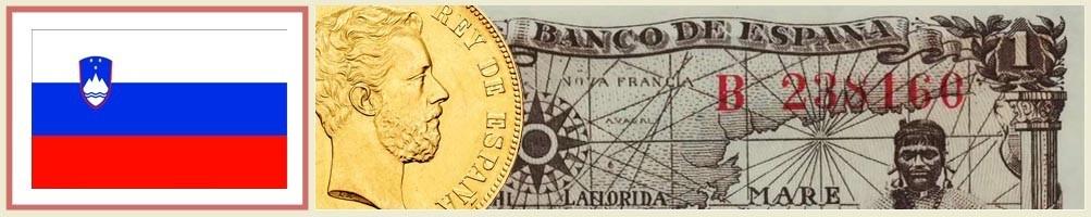 Numismatics of Slovenia - numismaticayfilatelia.com