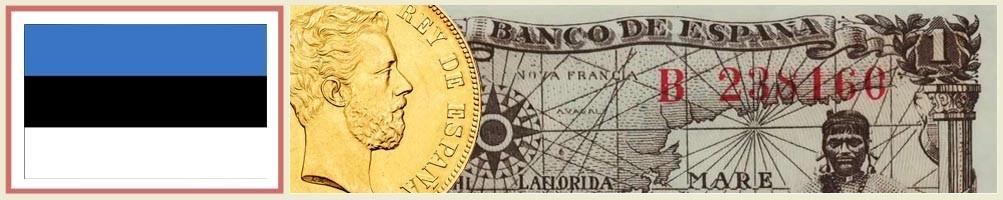 Numismatics of Estonia - numismaticayfilatelia.com