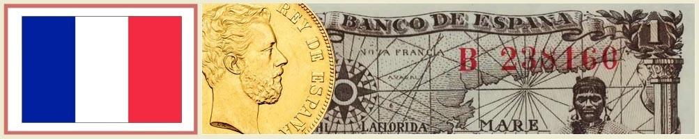 Numismatics of France - numismaticayfilatelia.com