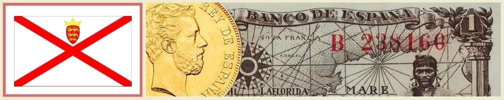 Jersey numismatics - numismaticayfilatelia.com