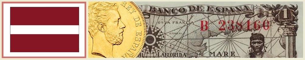 Latvian Numismatics - numismaticayfilatelia.com