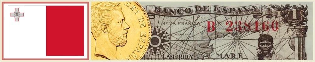 Numismatics of Malta - numismaticayfilatelia.com