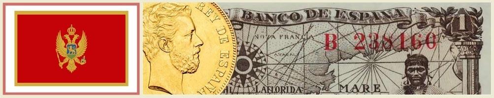 Numismatics of Montenegro - numismaticayfilatelia.com