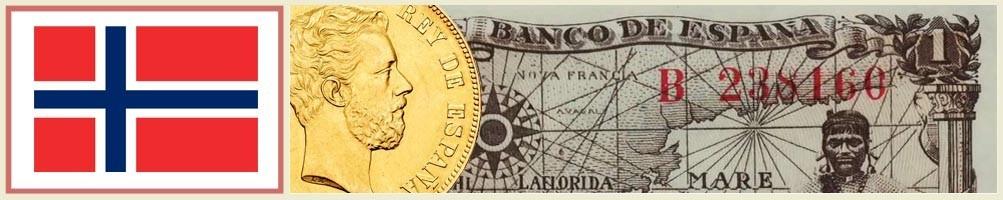 Norwegian Numismatics - numismaticayfilatelia.com
