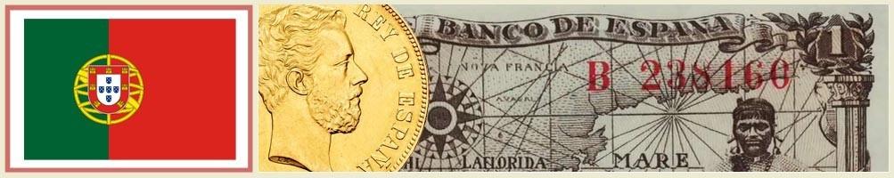 Numismatics of Portugal - numismaticayfilatelia.com
