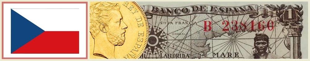 Numismatics of the Czech Republic - numismaticayfilatelia.com