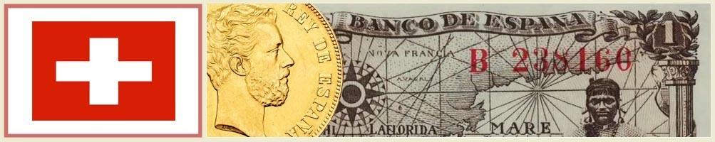 Swiss numismatics - numismaticayfilatelia.com